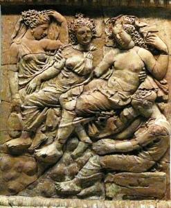 Άφροδίτη και Άδωνις. Τάραντας, Κάτω Ιταλία. 400-375 π.0. Getty Villa. Φωτο Χ. Μήνη