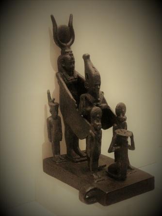 Isis, Osiris, Sekhmet, Horus resized