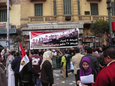Tahrir Demonstration